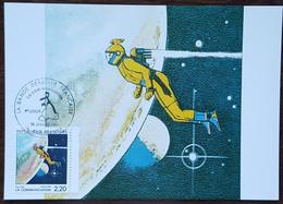 CM 1988 - YT N°2508 - LA BANDE DESSINEE / LA COMMUNICATION - ANGOULEME - 1980-89