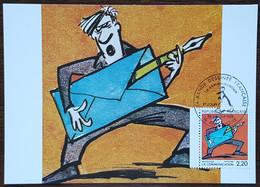 CM 1988 - YT N°2509 - LA BANDE DESSINEE / LA COMMUNICATION - ANGOULEME - 1980-89