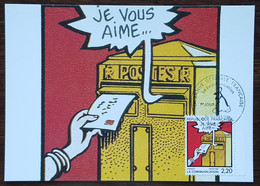 CM 1988 - YT N°2510 - LA BANDE DESSINEE / LA COMMUNICATION - ANGOULEME - 1980-89