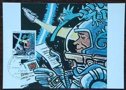 CM 1988 - YT N°2511 - LA BANDE DESSINEE / LA COMMUNICATION - ANGOULEME - 1980-89