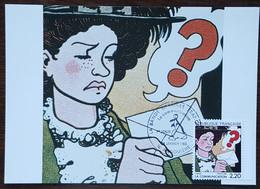 CM 1988 - YT N°2512 - LA BANDE DESSINEE / LA COMMUNICATION - ANGOULEME - 1980-89