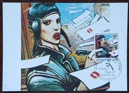 CM 1988 - YT N°2514 - LA BANDE DESSINEE / LA COMMUNICATION - ANGOULEME - 1980-89