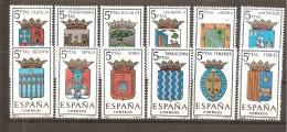 España/Spain-(MNH/**) - Edifil  1631-42 - Yvert 1296-01, 1326-31 - 1961-70 Ungebraucht