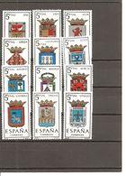 España/Spain-(MNH/**) - Edifil  1551-62 - Yvert 1212-14C, 1251-56 - 1961-70 Ungebraucht