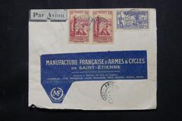 CÔTE D'IVOIRE - Enveloppe De Abidjan Pour La Manufacture D'Armes De St Etienne En 1942 - L 75565 - Briefe U. Dokumente
