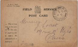 Militaire -114/ GEN N°5248- Field Service - Field Post Office - 1915 - War 1914-18