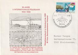 DV 66) DDR SSt Erfurt 17.1.1983: 50 Jahre 2. Internationales Polarjahr - Other