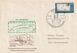 DV 65) DDR SSt Erfurt 1.9.1982: 100 Jahre 1. Internationales Polarjahr (Südgeorgien) - Other