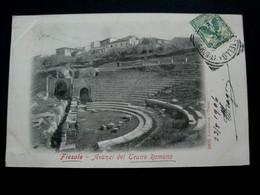 CPA Italy - TOSCANA - FIESOLE - AVANZI DEL TEATRO ROMANO (IT#1008) - Firenze (Florence)