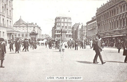 Liège - Place St Lambert (animée EDN VO-DW Anvers) - Liège