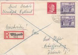 Deutsches Reich Dienstpost Ostland R Brief 1941 - Occupation 1938-45