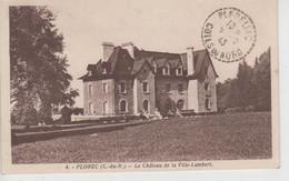 CPA Plorec - Le Château De La Ville-Lambert - Other Municipalities