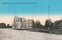 LIMBIATE (MONZA) CARTOLINA - PARCO DELLE RIMEMBRANZE E CASA DEL LITTORIO - Monza