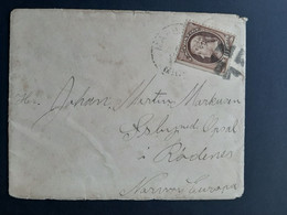 USA - 1891 - Letter To Norway - TB - Briefe U. Dokumente