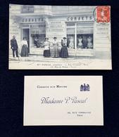 CPA - ALPES MARITIMES- NICE - Me PASCAL, Corsetière - 10, Rue Grimaldi - Nice 135, Rue De Nîmes - Vichy - Unclassified