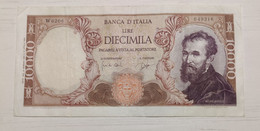 10000 Lire Michelangelo 1964 Serie Speciale W - 10000 Lire