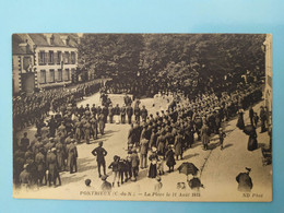 PONTRIEUX - La Place, 11 Août 1915 - Pontrieux