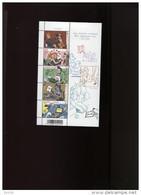 Belgie BL148 3710/14 Type Writers Machines à Ecrire Plaatnummer 3 Numero De Planche MNH - Blocks & Sheetlets 1962-....