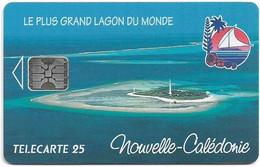 New Caledonia - OPT - Le Plus Grand Lagon Du Monde, NC-016A (No CN.) SC5, 08.1994, 25Units, 1.000ex, Used - Neukaledonien