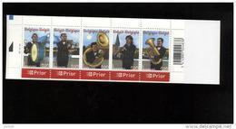 Belgie Boekje Carnet 2005 B57 PLAATNUMMER 2 MUSIC Fanfare Copper Horns Instruments Bugle Trumpet Clarinet Tuba - Booklets 1953-....