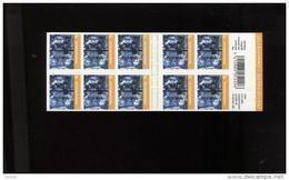 Belgie Boekje Carnet 2008 B98 Noel Xmas Kerstmis Sous Faciale - Blocks & Sheetlets 1962-....