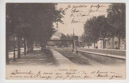 CPA Précurseur Valence - La Gare - Valence