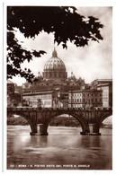 ROMA San Pietro Visto Da Ponte S. Angelo - San Pietro