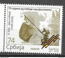 SERBIA, 2020,  MNH, WWII, VICTORY OVER FASCISM, 1v - 2. Weltkrieg