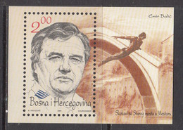 2001 Bosnia Balic Diver Diving Souvenir Sheet MNH - Bosnie-Herzegovine