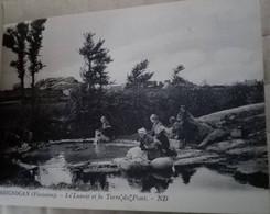 Brignogan - Le Lavoir Et La Terre Du Pont - Brignogan-Plage