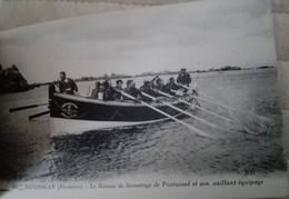 Brignogan - Le Bateau De Sauvetage De Pontusval Et Son Vaillant équipage - Brignogan-Plage