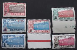 Réunion 1924 Yver 103 à 108 Neufs* Bords De Feuille - Neufs