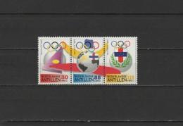 Netherlands Antilles 1992 Olympic Games Barcelona Set Of 3 MNH - Verano 1992: Barcelona