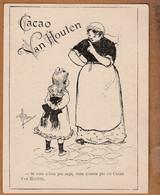 Image Ancienne Par Albert Guillaume Pour Le Cacao Van Houten ( Fillette ) - Other