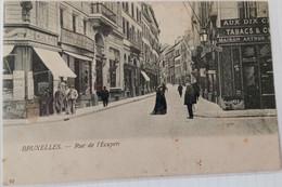 Bruxelles : Rue De L'ecuyer - Avenidas, Bulevares