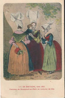 En Bretagne, Vers 1850 - Femmes De Bourgneuf-en-Reltz En Costume De Fête - Ohne Zuordnung