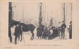 Soueix-Ariège Vers 1910-sports D'hiver - Other Municipalities