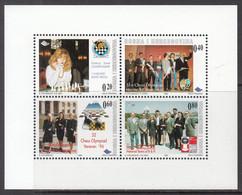 1998 Bosnia Chess Echecs  Souvenir Sheet  MNH - Bosnie-Herzegovine