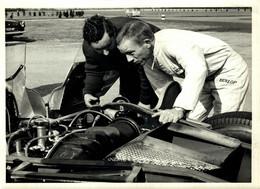 ROVER GAS TURBINE ENGINE BRM CHASSIS  LE MANS 1963   21*16CM MOTOR RACING RACE Car Course D'automobile - Auto's