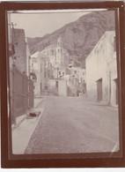 POSITANO-SALERNO- VERA FOTOGRAFIA- NO CARTOLINA-ANNO 1907 - Salerno
