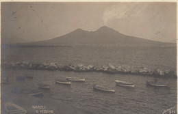 NAPOLI-VESUVIO-FOTO SCIUTTO--CARTOLINA VERA FOTOGRAFIA-VIAGGIATA IL 14-2-1904 - Napoli (Naples)