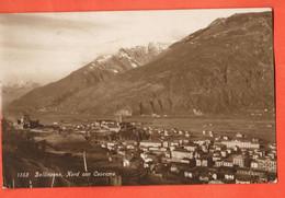 ZBR-39  Bellinzona Nord Con Caserma.  Poste Militaire  1916, Feldpost.Sepia - TI Ticino