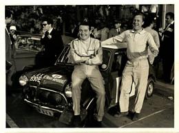 1967 ACROPOLIS RALLY  PADDY HOPKIRK RON CRELIN  20*15CM MOTOR RACING RACE Car Course D'automobile - Coches