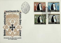 1958 Portugal 5º Centenário Do Nascimento Da Rainha D. Leonor - FDC