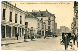 75012 PARIS - Rue De Reuilly, Caserne - Vue Des Bâtiments Des 89e Et 46e De Ligne - District 12