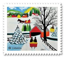 Stamps Of CANADA 2020 - Art. Maud Lewis. Domestic Rate Stamp. - Cuadernillos Completos/libretas Completas