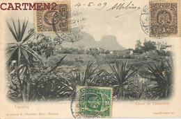 MEXIQUE MEXICO TEZIUTLAN CERRO DE CHINAUHTLA RUHLAND § AHLSCHIER SUCR. STAMP PHILATELIE ALBERTO URBINA - Mexico