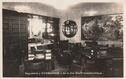 Bateaux  Paquebot Normandie - Passagiersschepen