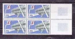 N° 1936 Ecole Polytechnique De Palaiseau Un Bloc De 4 Timbres Neuf Impeccable Sans Charnière - Unused Stamps