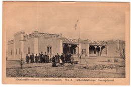 Swedish Mission In Turkestan Xinjiang No 2 Jarkend Station The Livinghose - China